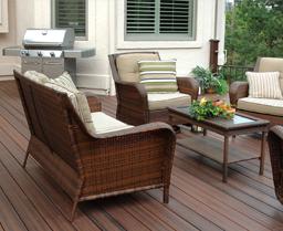 Фасадные системы из древесно — полимерного композита.